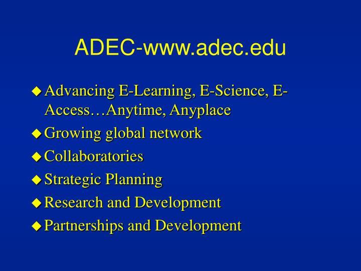 ADEC-www.adec.edu