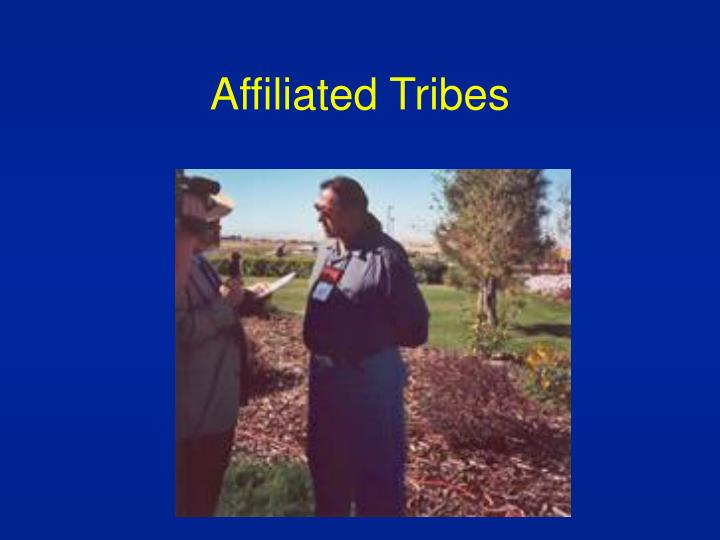 Affiliated Tribes