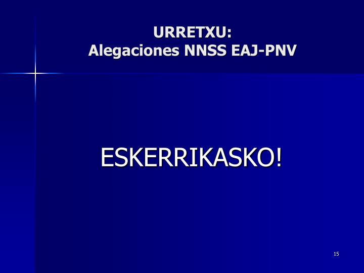 URRETXU: