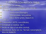 tuberculoza alcoolismul