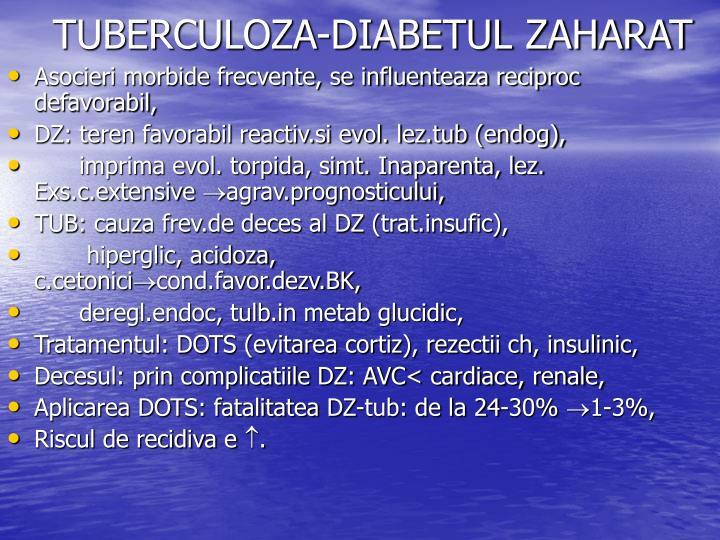 TUBERCULOZA-DIABETUL ZAHARAT