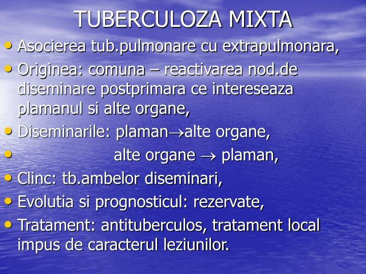 TUBERCULOZA MIXTA