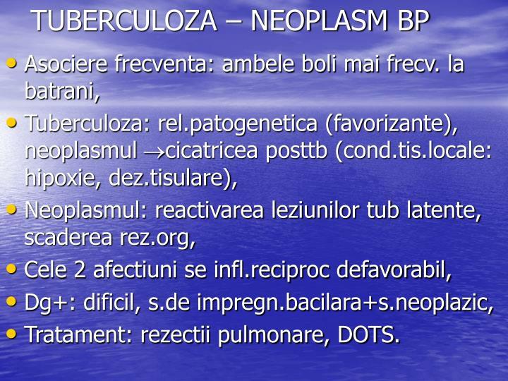 TUBERCULOZA – NEOPLASM BP