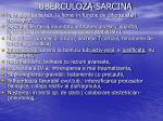 tuberculoza sarcina