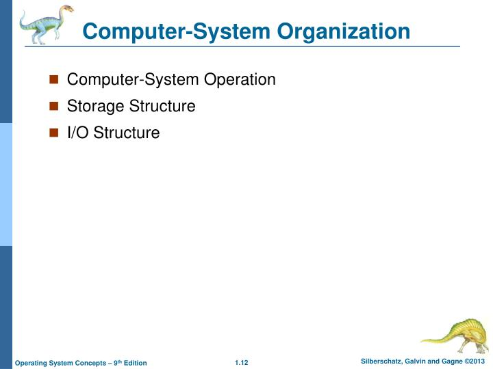 Computer-System Organization
