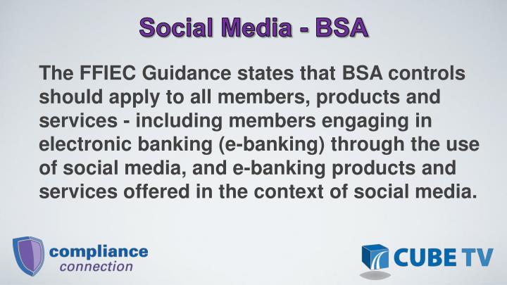 Social Media - BSA