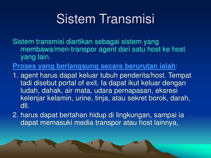 Sistem Transmisi