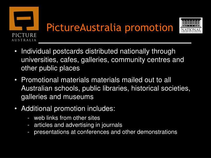 PictureAustralia promotion