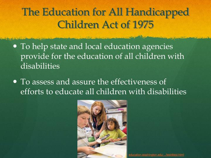 To help state and local education agencies provide for the education of all children with disabilities
