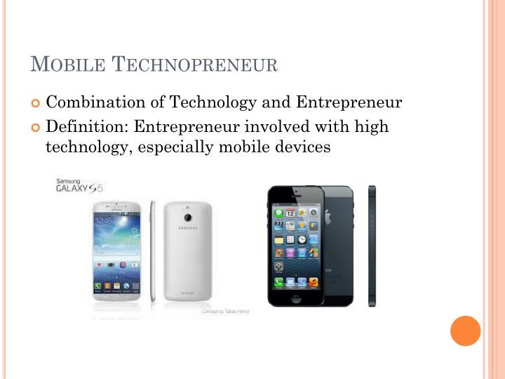 Mobile Technopreneur
