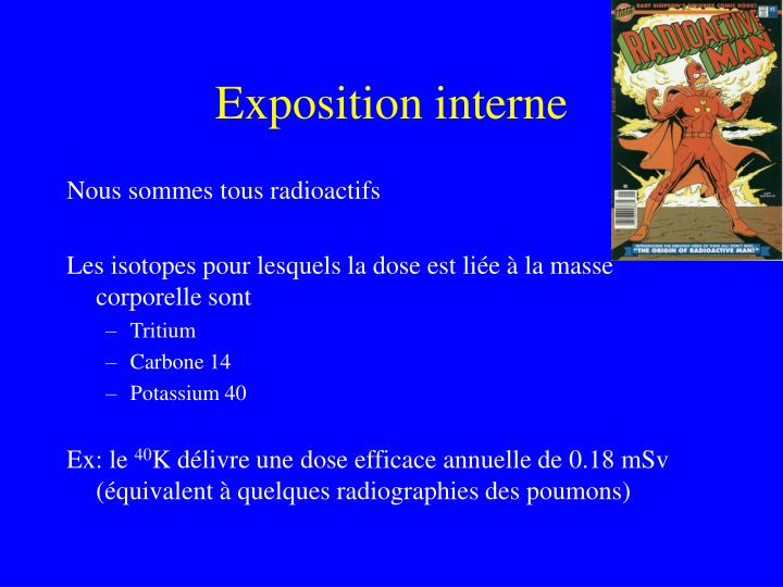 Exposition interne