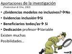 aportaciones de la investigaci n frederickson cline 2002