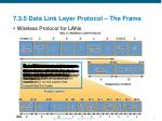 7 3 5 data link layer protocol the frame3