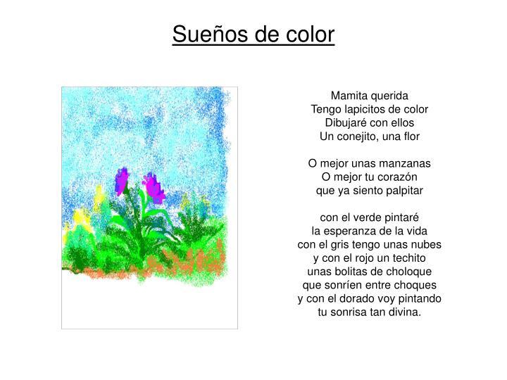 Sueños de color