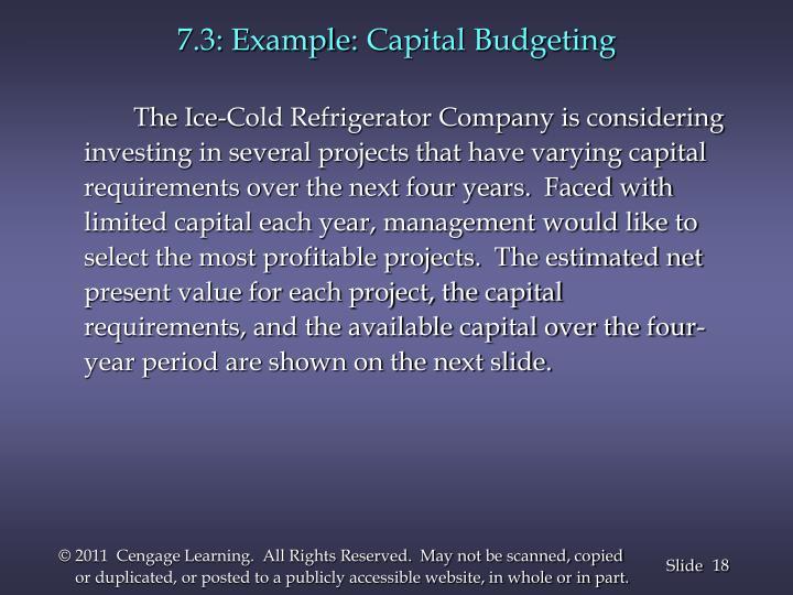 7.3: Example