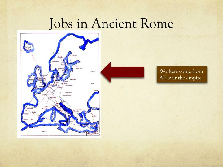 Jobs in Ancient Rome