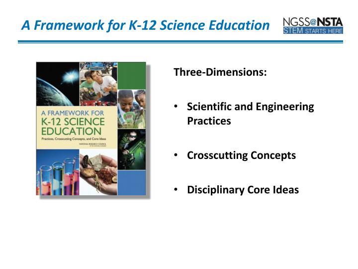 A Framework for K-12 Science Education