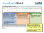 closer look at a ngss grade 21