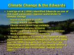 climate change the edwards