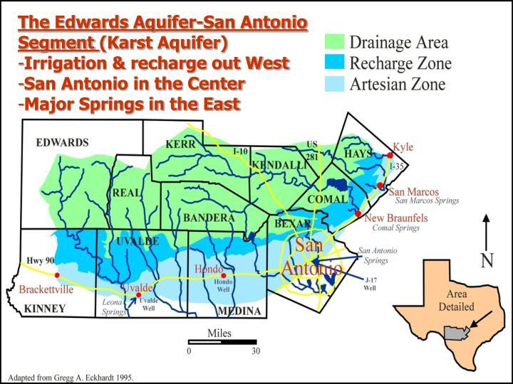 The Edwards Aquifer-San Antonio Segment