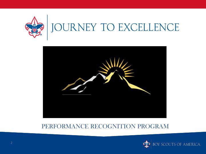Performance Recognition Program