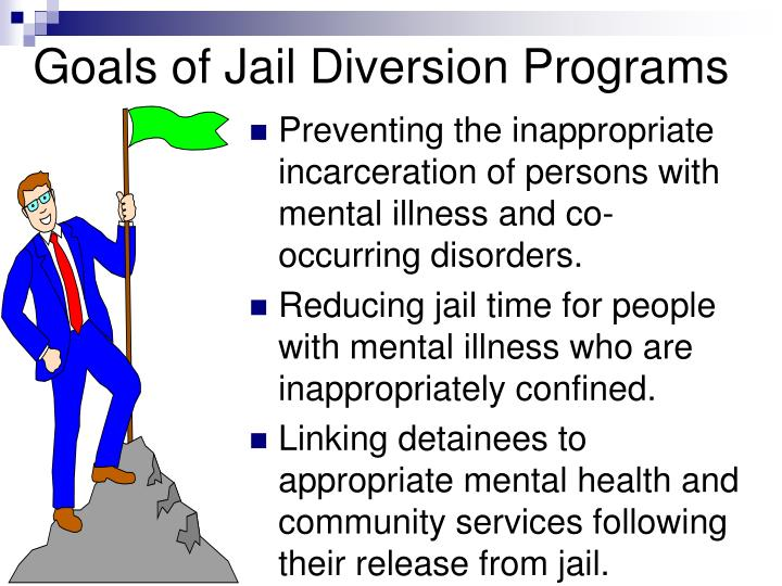 Goals of Jail Diversion Programs