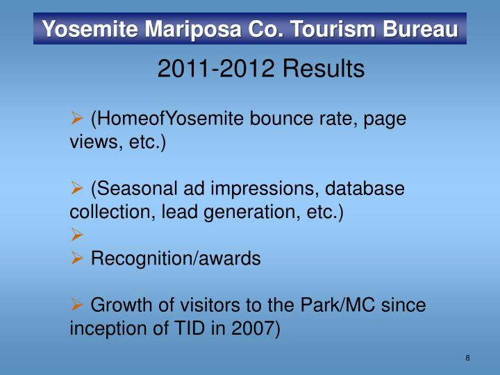 Yosemite Mariposa Co. Tourism Bureau
