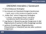 ereignis interaktiv gesteuert1