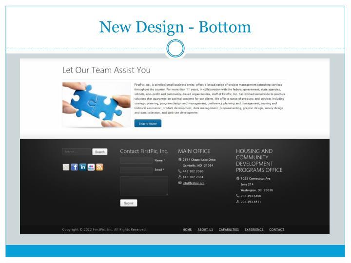 New Design - Bottom