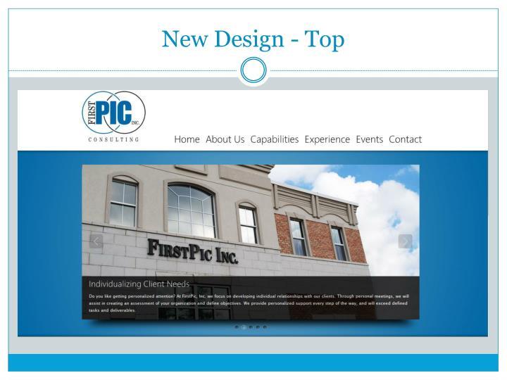 New Design - Top