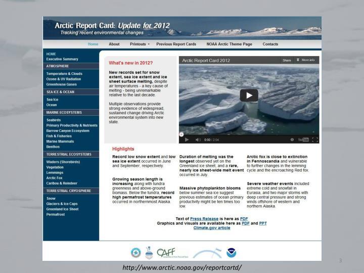 http://www.arctic.noaa.gov/reportcartd/