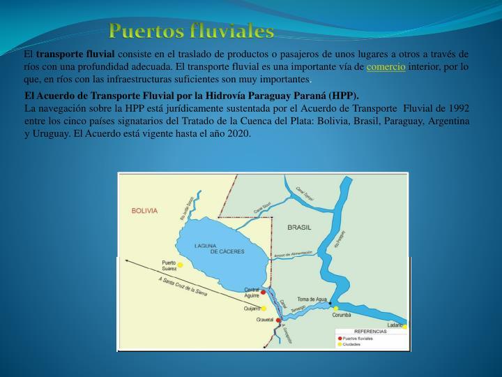 Puertos fluviales