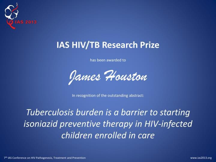 IAS HIV/TB