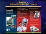 creating a national safe hospitals program
