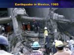 earthquake in mexico 1985