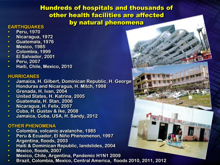 Hundreds of hospitals and thousands of