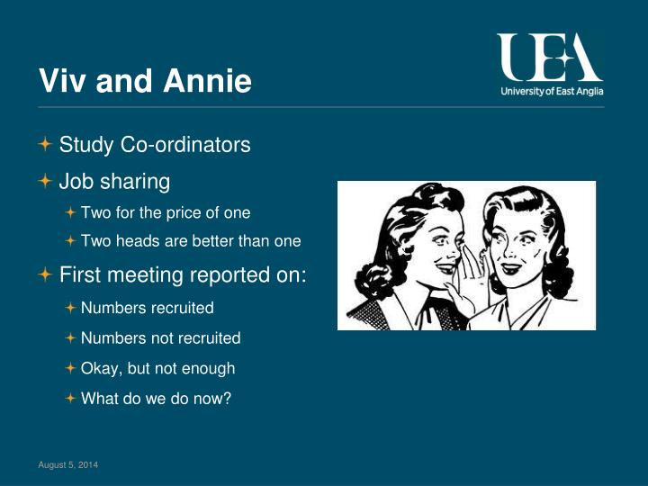 Viv and Annie