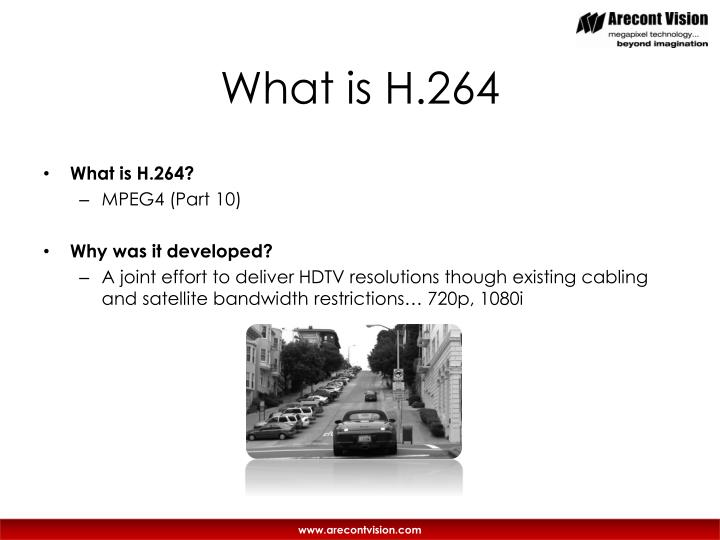 What is h 264