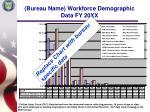 bureau name workforce demographic data fy 20xx