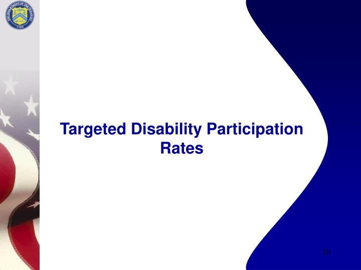 Targeted Disability Participation Rates
