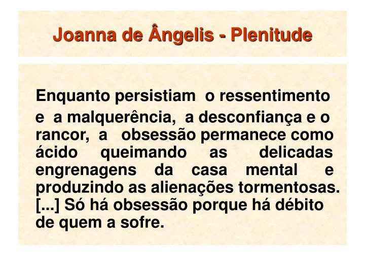 Joanna de Ângelis - Plenitude