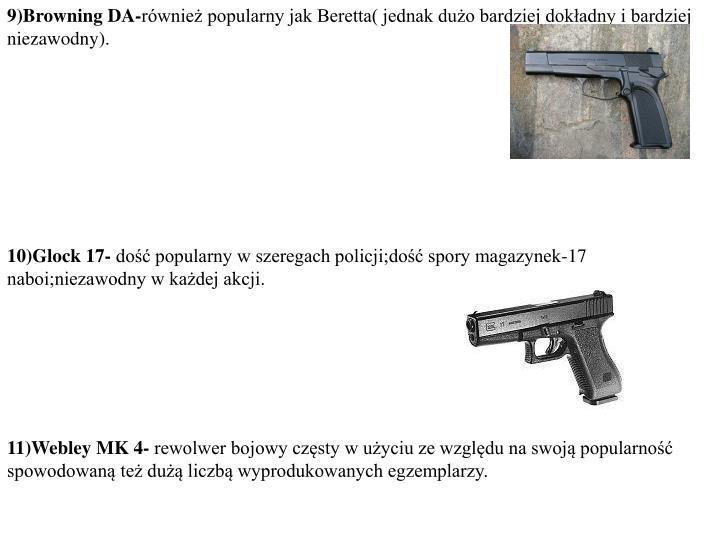 9)Browning DA-