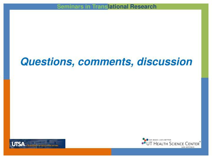 Seminars in Trans