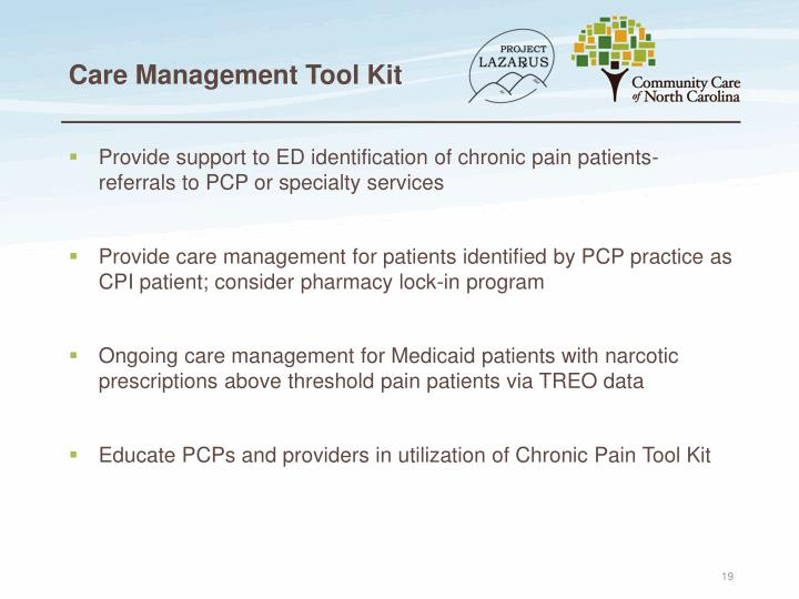 Care Management Tool Kit