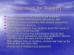 suggestions for teachers3