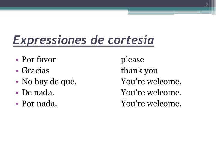 Expressiones