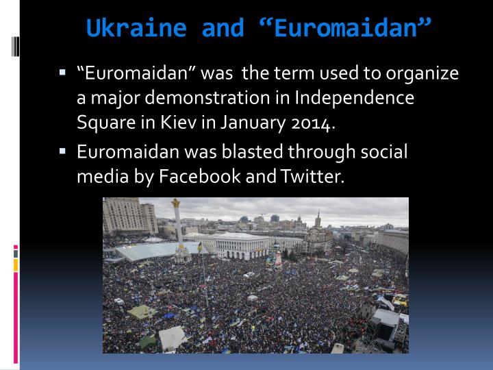 "Ukraine and """