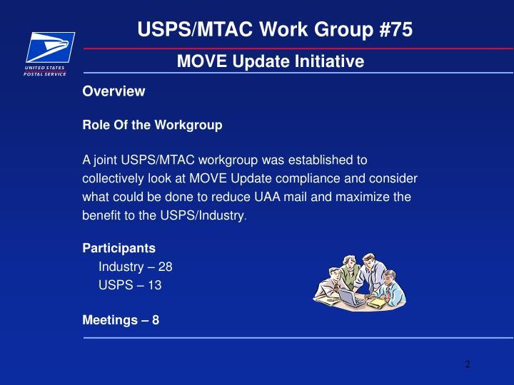 MOVE Update Initiative