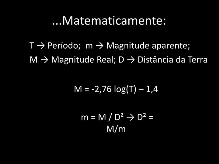 ...Matematicamente:
