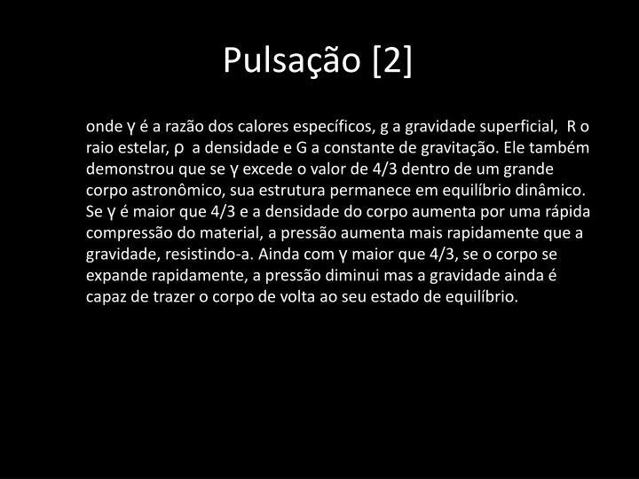 Pulsação [2]